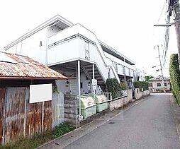京都府宇治市伊勢田町中山の賃貸アパートの外観
