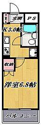 シャトレ宮崎台[105号室号室]の間取り