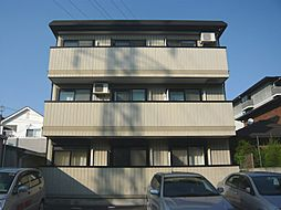 大阪府茨木市真砂1丁目の賃貸マンションの外観