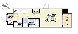 ファーストレジデンス大阪ベイサイド[5階]の間取り
