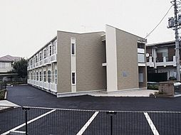 東京都八王子市泉町の賃貸アパートの外観