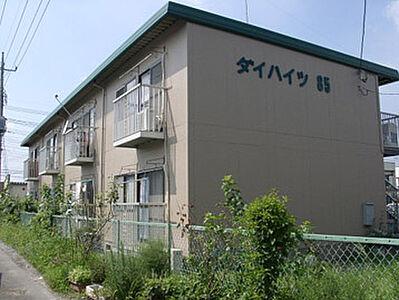 外観,2DK,面積39.81m2,賃料4.6万円,JR常磐線 赤塚駅 徒歩5分,,茨城県水戸市河和田