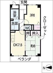 エントピアM・W[3階]の間取り