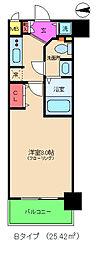 エスライズ梅田北[10階]の間取り