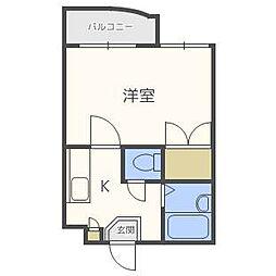 トレジャーハウス[4階]の間取り