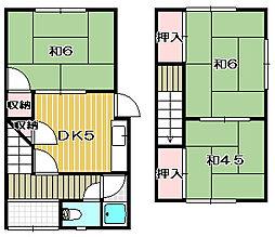 [テラスハウス] 大阪府茨木市耳原1丁目 の賃貸【大阪府 / 茨木市】の間取り