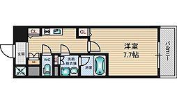 グレンパーク新大阪2[1003号室]の間取り