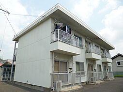 東京都あきる野市二宮の賃貸マンションの外観