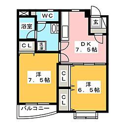時空庵II[2階]の間取り