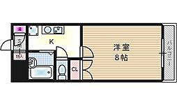 ワイズコート[3階]の間取り