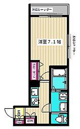 (仮称)西糀谷4丁目メゾン 1階1Kの間取り