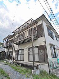埼玉県鶴ヶ島市共栄町の賃貸アパートの外観