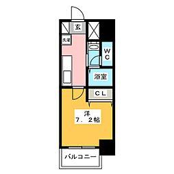 チェルトヴィータ[3階]の間取り