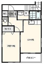 スマイルNT[2階号室]の間取り