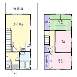 ハウス稲文 II[1階]の間取り