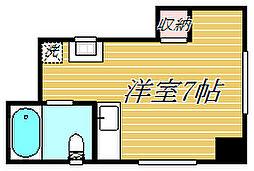 東京都江東区森下2丁目の賃貸マンションの間取り