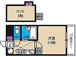 タカトヨハイツ7[1階]の間取り