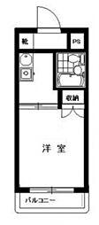ステーションプラザ多摩川 bt[204kk号室]の間取り