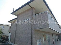 香川県高松市檀紙町の賃貸アパートの外観