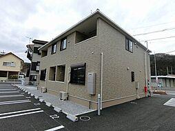 埼玉県比企郡小川町大字腰越の賃貸アパートの外観