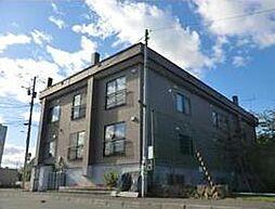 北海道札幌市南区石山一条3丁目の賃貸アパートの外観