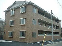 愛知県安城市横山町下管池の賃貸マンションの外観