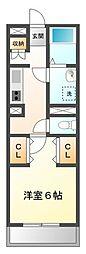 MONASO甲子園口[1階]の間取り