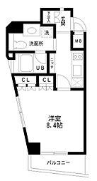 レジディア幡ヶ谷[2階]の間取り