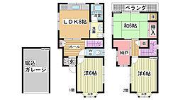 [一戸建] 兵庫県神戸市灘区赤松町2丁目 の賃貸【/】の間取り