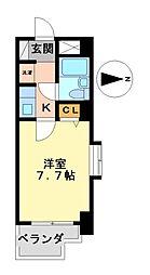ライオンズマンション千種南[4階]の間取り