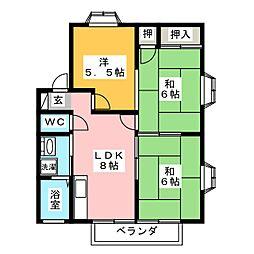 メゾン佐川[2階]の間取り