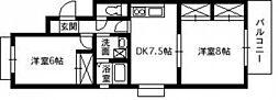 広島県広島市西区己斐中2丁目の賃貸マンションの間取り