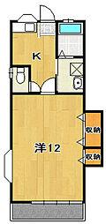 助川アパート[101号室]の間取り