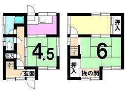万願寺 売家(借地 )