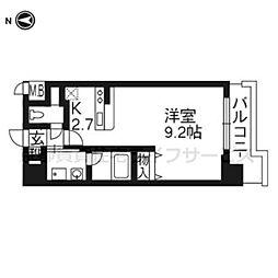 ベラジオ京都清水101[1階]の間取り