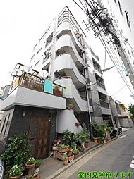 東京都新宿区原町3丁目の賃貸マンションの外観