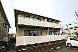 福岡県春日市天神山4丁目の賃貸アパートの外観