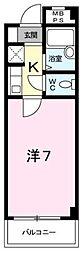 大阪府和泉市箕形町1丁目の賃貸マンションの間取り