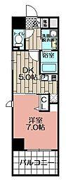 S−FORT博多東II[503号室]の間取り
