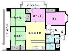 野中第一ビル[507 号室号室]の間取り