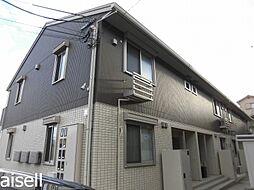 広島県広島市佐伯区八幡2丁目の賃貸アパートの外観
