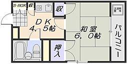 コアビル[2階]の間取り
