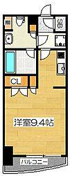 パークアクシス博多[3階]の間取り