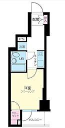東京都品川区東五反田1丁目の賃貸マンションの間取り
