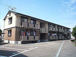 ラポール野本B棟[2階]の外観