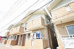 香川県高松市香西東町の賃貸アパートの外観