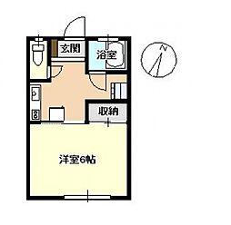 高橋アパート[102号室号室]の間取り