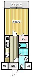 FDS KOHAMA WEST[502号室]の間取り