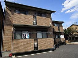 東京都江戸川区東葛西2丁目の賃貸アパートの外観