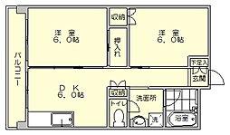 オーリン7号ビル[5階]の間取り